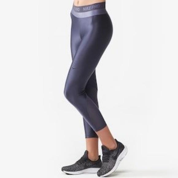 98dd815171524 Nike Pants | Nwt Pro Hypercool Glamour Tights Small | Poshmark